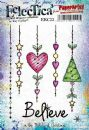 Eclectica³ Rubber Stamp Sheet by Kay Carley - EKC33